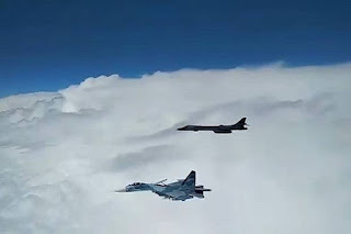 Jet Tempur Rusia Cegat Bomber Amerika Serikat