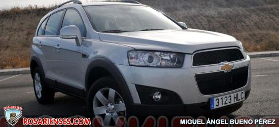 Chevrolet Captiva 2.2 VCDi FWD | Rosarienses, Villa del Rosario