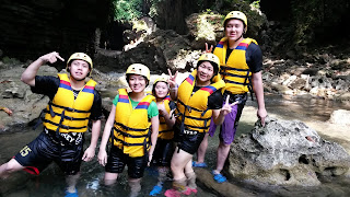 guha bau body rafting green canyon