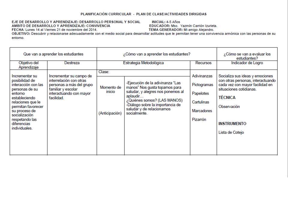 Ideas y Criterios Educativos.  Ámbito Identidad y Autonomía ... 3de14ba3116f9