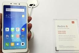 Xiaomi Redmi 6 Ponsel Kamera Ganda Rp2 Jutaan