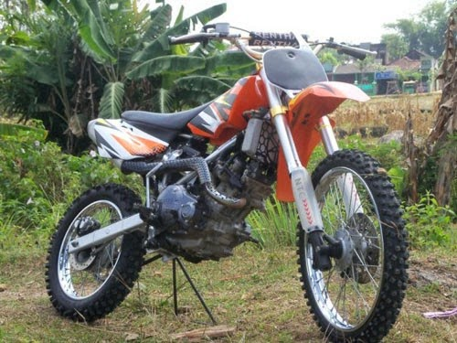 Cara Modifikasi Motor Yamaha Jupiter Mx Jadi Trail Terbaru