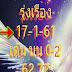 หวยรุ่งเรือง 3 ตัว 2 ตัวบน-ล่าง งวด 17/01/61