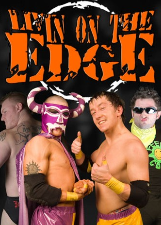 Grand Pro Wrestling - Livin on the Edge 2009 poster