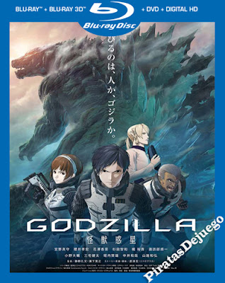 Godzilla: El planeta de los monstruos (2017) HD 1080p Latino