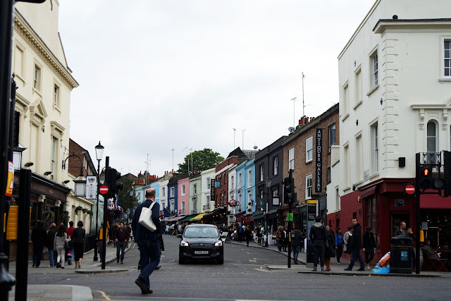 London, Portobello, market, londres, london, vlog, roadtrip, blog, street, pastel house,