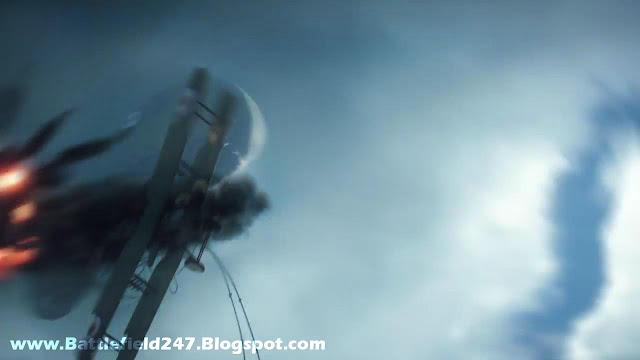 Battlefield 1 Biplane Dogfight Explosion