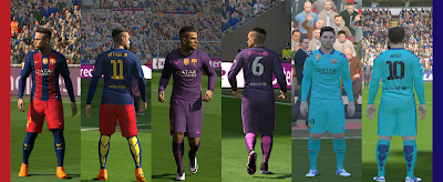 Download Kits Barcelona Pes 2016 Musim 2016/2017