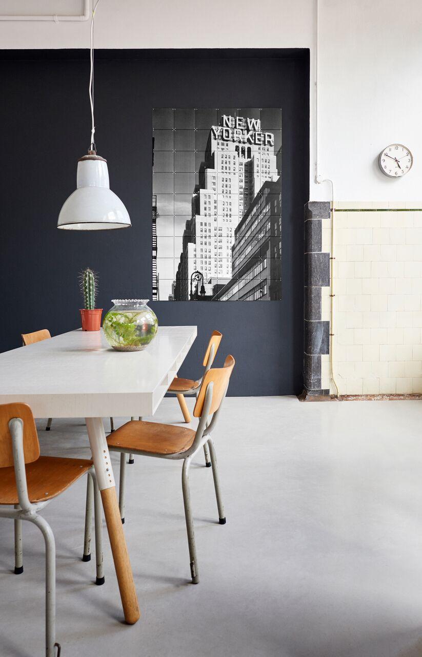 Inowacyjna koncepcja dekorowania ścian
