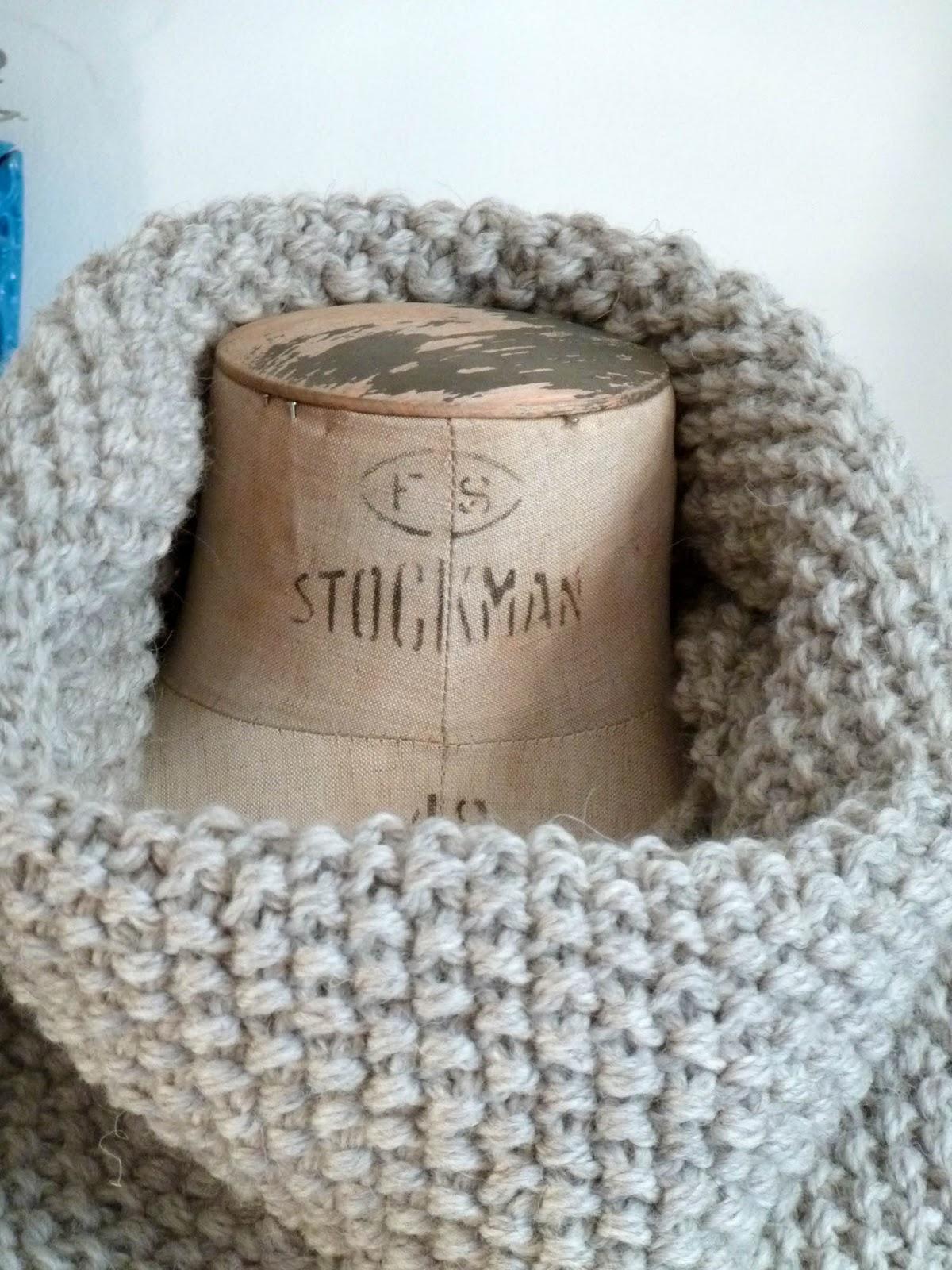 knit cat 39 s tuto maxi col au point de riz. Black Bedroom Furniture Sets. Home Design Ideas