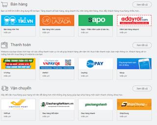 công cụ bán hàng online