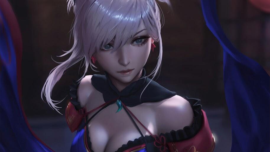 Miyamoto Musashi, Fate/Grand Order, 4K, #6.2322