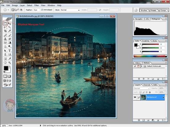 Cara Membuat Sentuhan Efek Fish Eyes Photo Lewat Photoshop