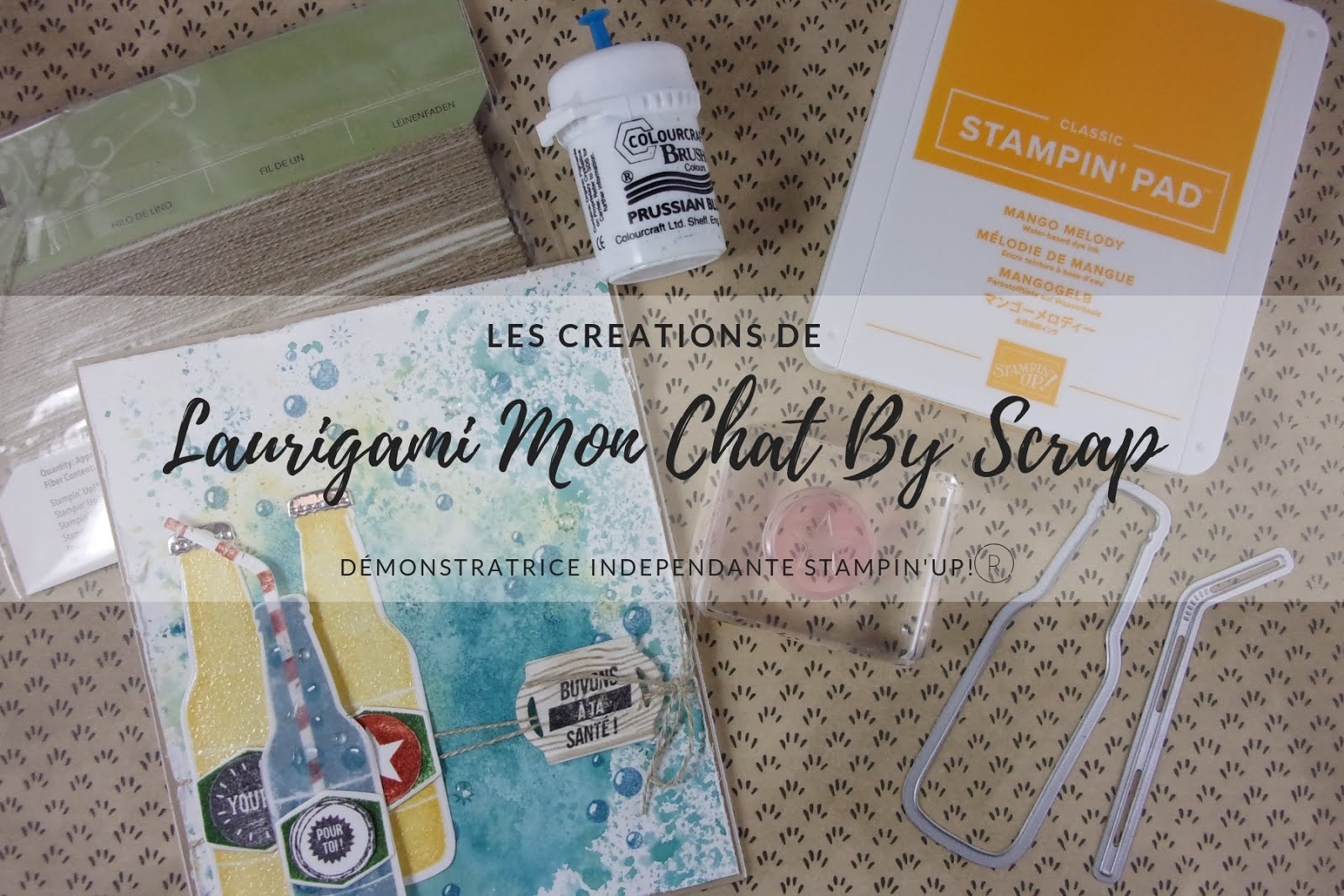 Laurigami Mon chat by scrap Stampin'Up!