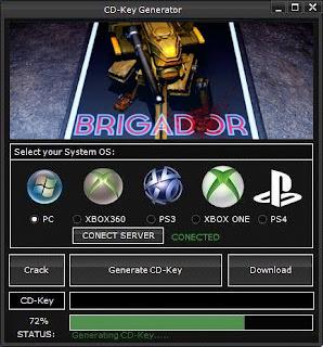 Brigador Key Generator (Free CD Key)
