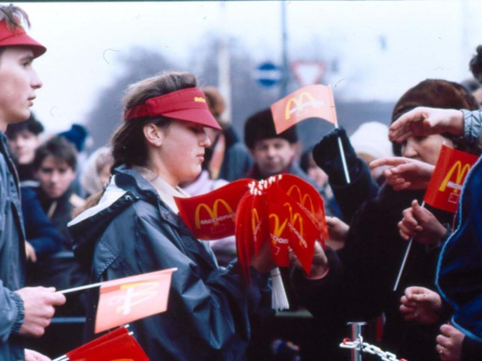 The Moscow McDonald's initiative was a joint venture between McDonald's of Canada and Moscow city council.