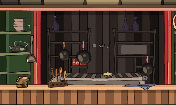 GenieFunGames Kitchen Door Rescue