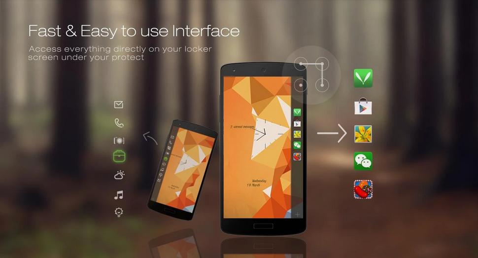 Aplikasi Lock Screen Android Terapik Dengan Puluhan Tema - Locker Master