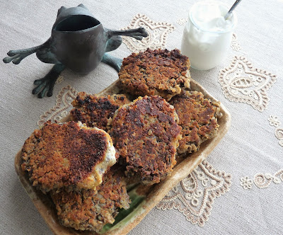 Russian Mushroom Cutlets