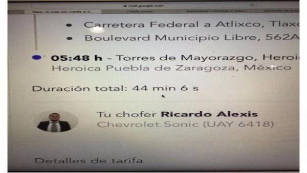 Chofer de Cabify tenía en su poder celular de Mara Fernanda: Fiscalía