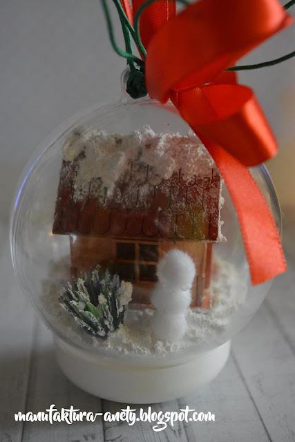 świąteczna ozdoba na choinkę