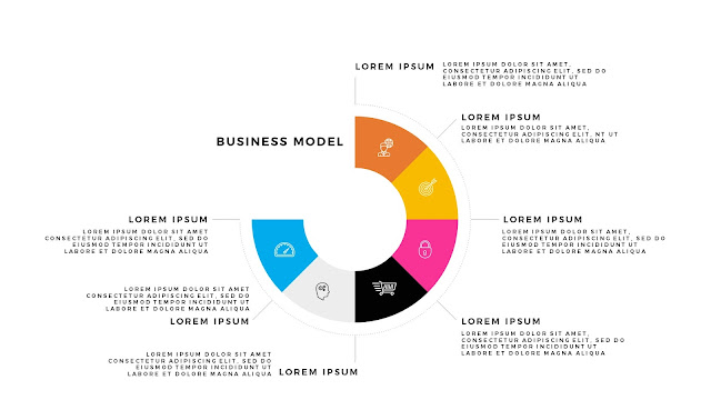 Infographic Business Model Presentation for PowerPoint Template Slide 4