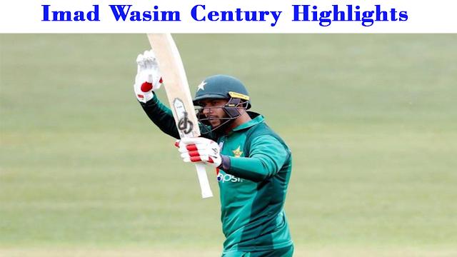 """""""imad wasim stats"""" , """"imad wasim century highlights"""",""""imad wasim bowling"""", """"imad wasim century"""""""