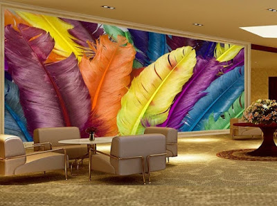 Best 3D wallpaper for living room walls 3D wall murals images