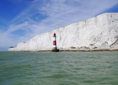 The iconic Beachy Head lighthouse