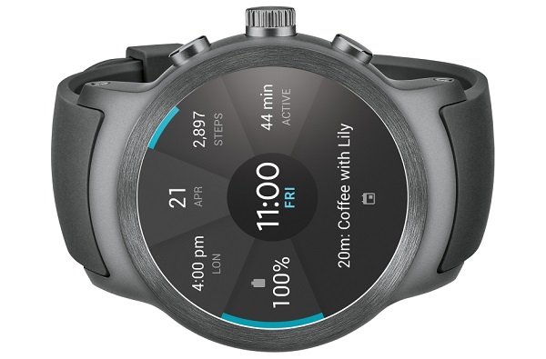 Imágenes del LG Watch Sport