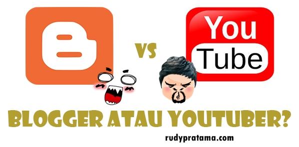 blogger vs youtuber