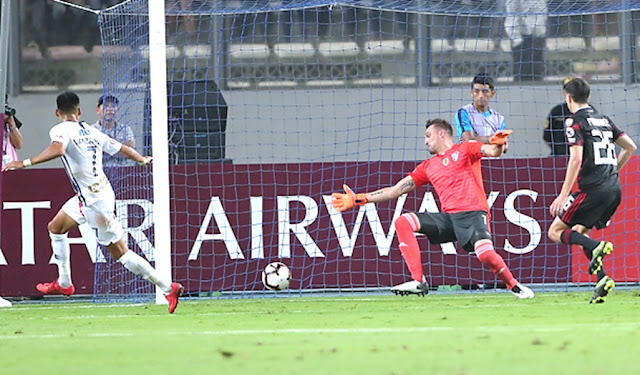 River Plate empata el partido a Alianza Lima al último minuto por la Copa Libertadores
