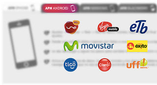 APN de operadores colombianos: Tigo, Claro, Movistar, Une, Uff, Etb, Virgin mobile, Movil Exito, Avantel