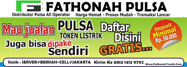 Peluang Bisnis Usaha Jualan Pulsa Raja Wali Reload Tangerang