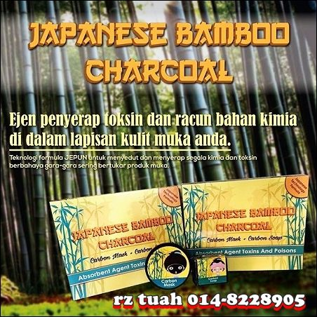 bvr japanese bamboo charcoal detox kulit