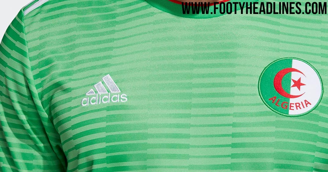 16cbcdf6adb Adidas Algeria 2018 Home Kit Released + Away Kit Leaked - Footy ...