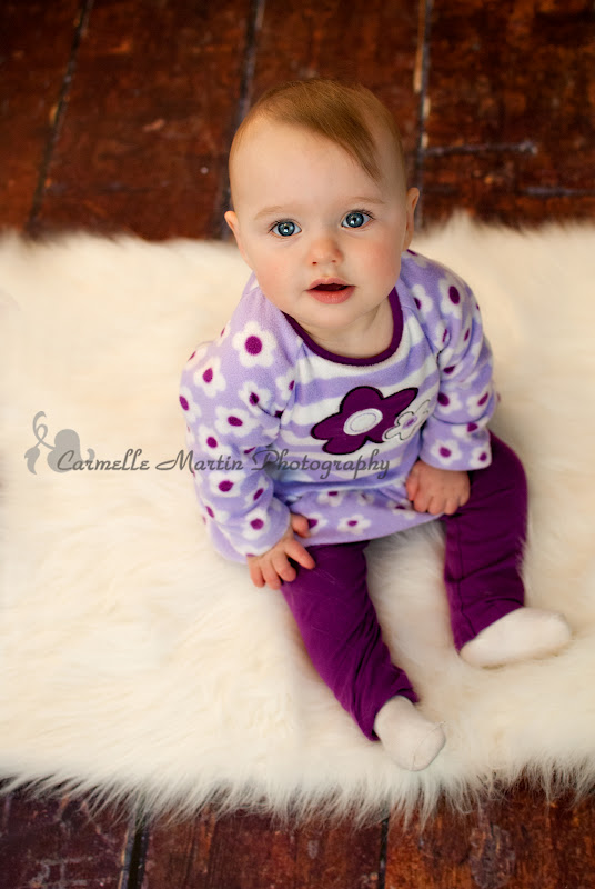 Carmelle Martin Photography 9 Month Old Baby Girl