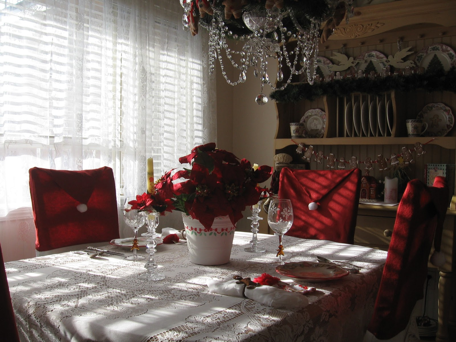 Christmas Chair Covers Pinterest Timed Stand Test Kngf English Purple Ribbon Darling Santa Hat