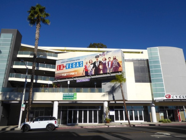 LA to Vegas sitcom billboard