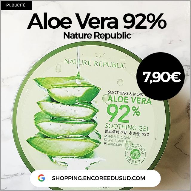 Aloe Vera Nature Republic Corée