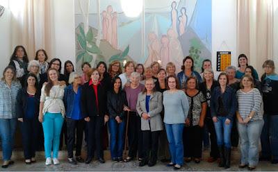 Servas luteranas reunidas em Nova Odessa no dia 01 de maio de 2016 (foto: Jean Tosetto).