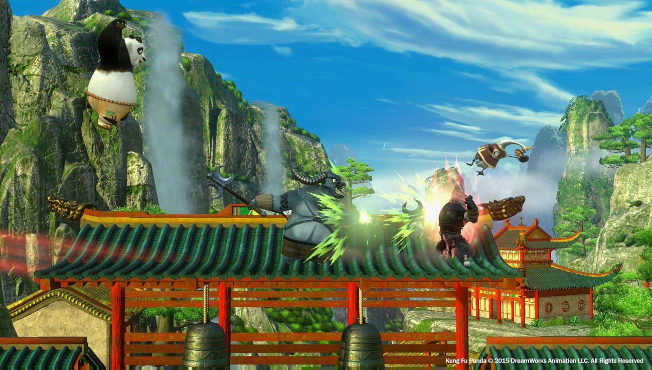 لعبة kung fu panda showdown of legendary legends للكمبيوتر