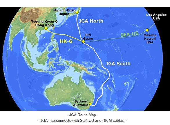 Converge! Network Digest: Japan-Guam-Australia Cable