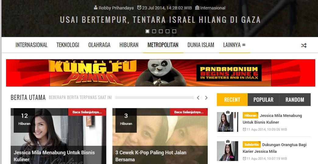 Aplikasi Web Berita Dengan PHP Swarakalibata