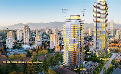 GOLD HOUSE - Tower 1 and 2, Burnaby Metrotown