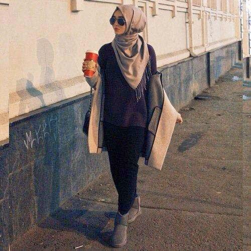 hijab moderne vetement femme voil e moderne. Black Bedroom Furniture Sets. Home Design Ideas