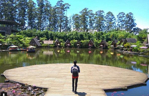 Wisata keluarga dan anak di Bandung dusun bambu leasure park