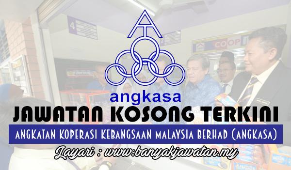 Jawatan Kosong 2017 di Koperasi Kebangsaan Malaysia Berhad (ANGKASA) www.banyakjawatan.my