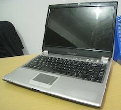 jual laptop second axioo m54n