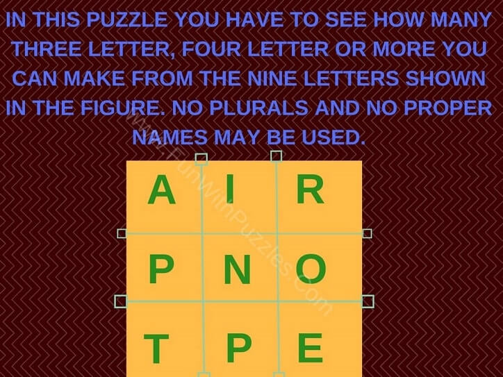 Jumbled Words Exercises with Answers Fun With Puzzles